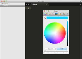 sublime color picker plugin my studies pinterest editor web