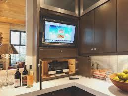 kitchen under cabinet tv for kitchen best home design beautiful