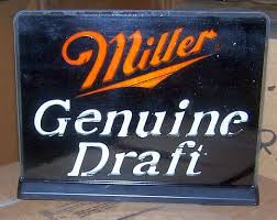 Miller Genuine Draft Pool Table Light New Old Stock Beer Advertising Dyer U0027s Auction Service Llc