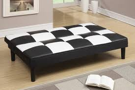 sofa bed twin size and poundex f red twin size leather sofa bed