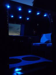 Vanguard Lighting Vw T4 Blue Interior Led Lights By Vanguard Conversions Via Flickr