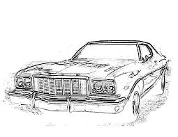 classic cars drawings kewl site for car drawings the ford torino page forum