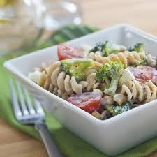 broccoli feta pasta salad recipe eatingwell