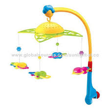 b o crib toys baby mobiles with bee fairyland with music and
