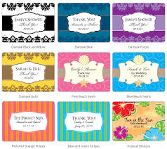 labels for wedding favors large rectangular wedding favor label rectangle hang tags and