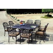 6 Piece Patio Dining Set - darlee elisabeth 9 piece cast aluminum patio dining set ultimate