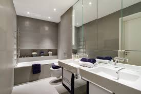 Modern Mirrors For Bathrooms Large Bathroom Mirror Bathroom Contemporary With Bathroom Door