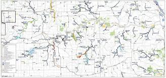 Map Mn Minnesota Trout Fishing