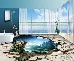 Waterproof Wallpaper For Bathrooms Wallpaper For Bathrooms U2013 The Pros Opinions Large Swirl Geo