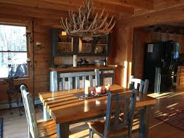 Cabin Style Luxury Log Cabin Style Family Ski Lodge 15 Minutes From Sunday