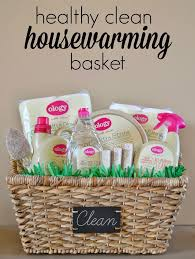 housewarming basket healthy clean housewarming gift basket my healthy home hello