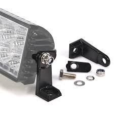 heavy duty road led light bar side mounting brackets work
