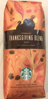 starbucks thanksgiving blend coffee frosted