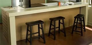 Diy Breakfast Bar Table Home Dzine Extend Kitchen Countertop Or Add Breakfast Bar