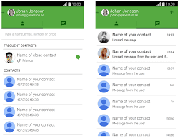 hangouts app android hangouts version 2 3 android 4 4 4 sketch freebie