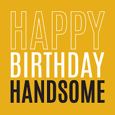 happy birthday u0027handsome u0027 card by megan claire
