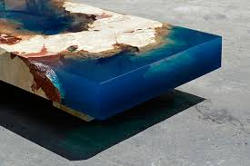 topography coffee table duffy london topography resin coffee table materialmondays