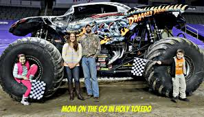 monster jam truck monster jam fun mom on the go in holy toledo