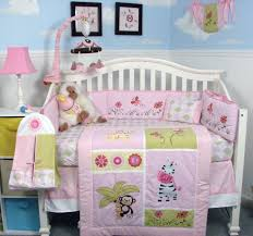 boutique girls bedding total fab jungle theme baby bedding