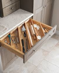 martha stewart kitchen ideas angled drawer dividers make it easy to store longer utensils like