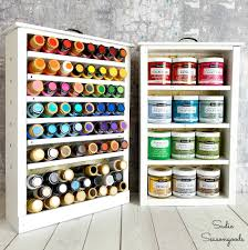 Spice Rack Knoxville Diy Craft Paint Storage Using Repurposed Upcycled Salvaged Drawers