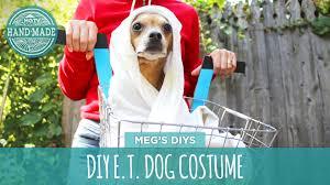 pets costumes halloween diy e t dog costume youtube