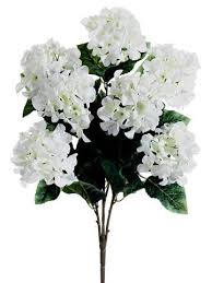 hydrangea white silk hydrangeas artificial hydrangea flowers silk flowers