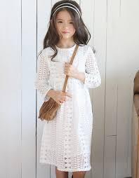 clothes lace crochet princess dress winter