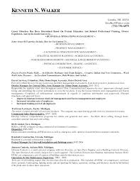 facilities manager resume resume for your job application