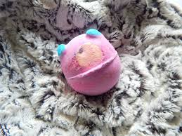 lush monster u0027s ball bath bomb what lauren did today