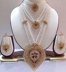 rajputi earrings rajputi culture rajputi jewellery set of three necklaces