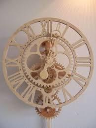 Free Wood Clock Plans by Cutting Wood Gear U0026 Clock Wheel Teeth Video Gears Pinterest