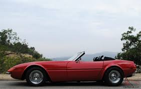 rowley corvette daytona spyder convertible replica 427 4 speed