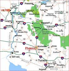 map of az highway map of arizona aaccessmaps
