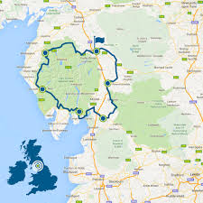 Map Of Kent England by Lakes U0026 Dales Loop Lake District Cycle Route Cumbria Cycling