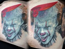 pennywise it stomach portrait by alan aldred tattoonow