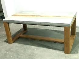 concrete and wood coffee table concrete coffee table concrete wood coffee table concrete coffee