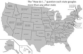 Google Maps Meme Most Asked Questions On Google By State Meme By The Lurker