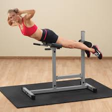 Roman Chair Exercises Pch24x Powerline Roman Chair Back Hyperextension Body Solid