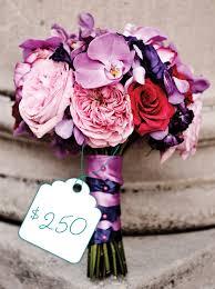 Bridal Bouquet Cost Elegant Pink And Purple Bouquet Cost Flowers The Celebration