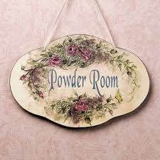Powder Room Framed Art Bath Wall Accents Touch Of Class