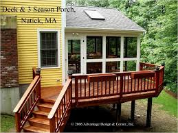 Three Season Porch Plans Three Season Porch Design Ideas Gable Roof 3 Season Porch U0026 Deck