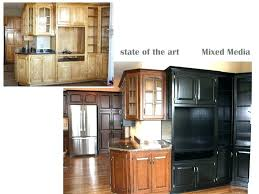 painted vs stained kitchen cabinets paint or stain kitchen cabinets electricnest info