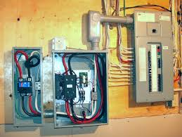 installation of two automatic transfer switches for a standby new