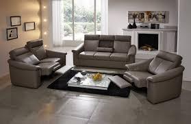 canapé cuir relax electrique 3 places salon complet électrique relax en cuir johnjohn