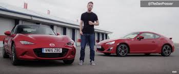 new mazda toyota gt86 versus the new mazda mx 5 on the track what u0027s your