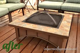 Square Firepit Pit Repair Infarrantly Creative