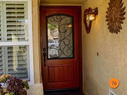 Fiberglass Exterior Doors With Glass 36 X 96 Therma Tru Classic Craft Rustic Model Ccr820537 With
