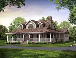 country home with wrap around porch home plans wrap around porch design rustic house with porches