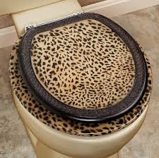 animal print bathroom ideas cheetah bathroom set toilet seat home interiors